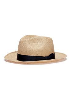 Lock & Co Straw fedora hat