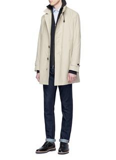 Sealup Retractable hood raincoat