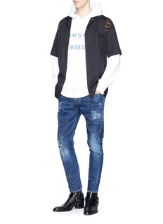 Dsquared2 'Sexy Twist' ripped jeans
