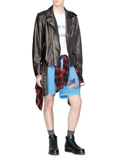 Dsquared2 Floral print sweat shorts