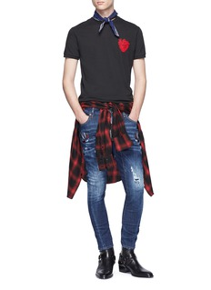 Dsquared2 Heart appliqué T-shirt
