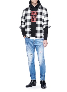 Dsquared2 Ripped bleached jeans