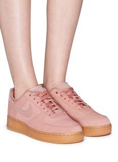 Nike 'Air Force 1' suede sneakers