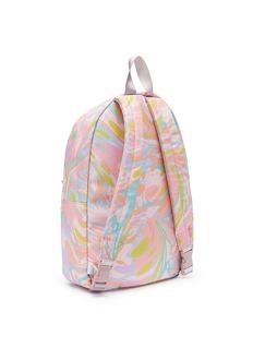 Stella Mccartney Kids 'Bang' marble print kids backpack