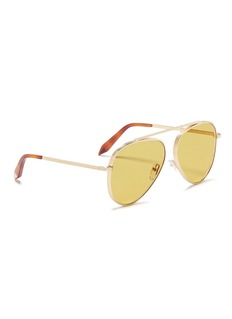 Victoria Beckham Browline bridge aviator sunglasses