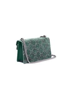 Gucci 'Dionysus' small GG velvet shoulder bag