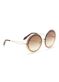 Victoria Beckham 'Floating Round' metal sunglasses