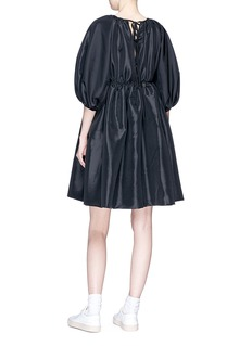 Cecilie Bahnsen 'Ava' puff sleeve faille dress