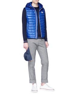 Moncler Stripe cuff virgin wool sweater