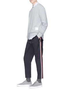 Moncler Petersham outseam twill jogging pants