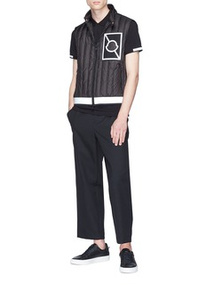 MONCLER x Craig Green反光标志及条纹polo衫