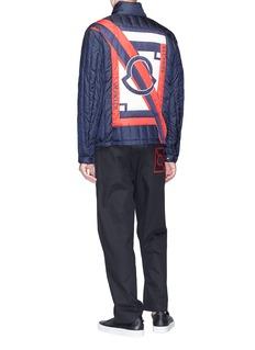 Moncler Capsule x Craig Green 'Lasalle' logo print down puffer jacket