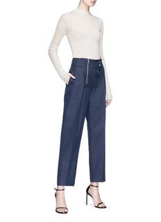 CALVIN KLEIN 205W39NYC Stripe wool blend sweater