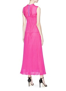 CALVIN KLEIN 205W39NYC Smocked knit maxi dress