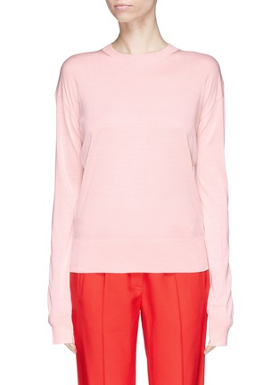 Main View - Click To Enlarge - CALVIN KLEIN 205W39NYC - Silk sweater