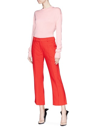 Figure View - Click To Enlarge - CALVIN KLEIN 205W39NYC - Silk sweater