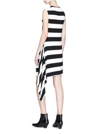 Figure View - Click To Enlarge - CALVIN KLEIN 205W39NYC - Ruffle trim stripe dress