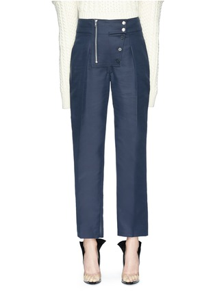 Main View - Click To Enlarge - CALVIN KLEIN 205W39NYC - Straight leg cropped suiting pants