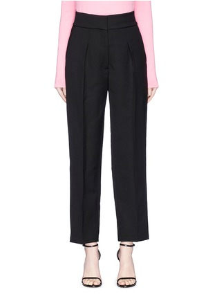 Main View - Click To Enlarge - CALVIN KLEIN 205W39NYC - Virgin wool-silk suiting pants