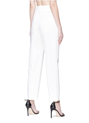 Back View - Click To Enlarge - CALVIN KLEIN 205W39NYC - Button zip placket pants