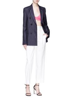 CALVIN KLEIN 205W39NYC Button zip placket pants