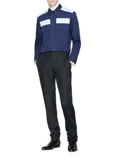 CALVIN KLEIN 205W39NYC Colourblock shirt