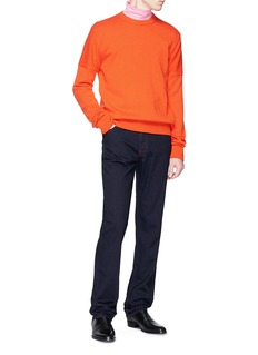 CALVIN KLEIN 205W39NYC Contrast stitch slim fit jeans