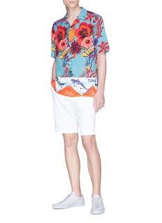 Paul Smith 'Ocean' print short sleeve shirt