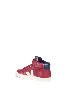 Veja 'ESPLAR MID' leather kids sneakers
