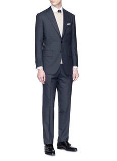 Tomorrowland Ermenegildo Zegna Cool Effect® check plaid wool suit
