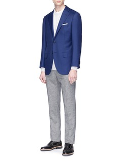 Tomorrowland Ermenegildo Zegna Horizontal Twill® wool soft blazer