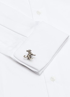 Tateossian Mechanical dog cufflinks