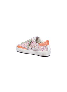 Golden Goose 'Superstar' glitter coated suede toddler sneakers