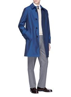 TOMORROWLAND Loro Piana可拆式内衬防风防水大衣