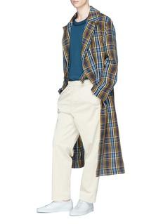 Acne Studios 'Maclaren' check plaid coat