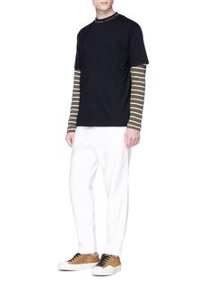 ACNE STUDIOS Navid品牌名称衣领T恤