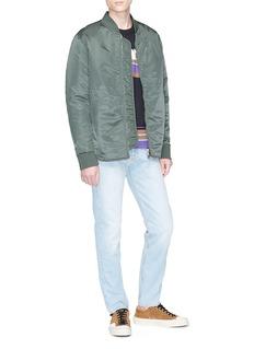 Acne Studios 'Mylon Shine' padded bomber jacket