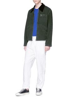 Acne Studios 'Marvon' corduroy collar canvas workwear jacket
