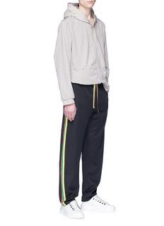 ACNE STUDIOS Norwich Face三色侧条纹抽绳休闲裤