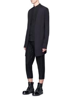 DEVOAChalk stripe cropped jogging pants