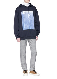Acne Studios 'Fala' floral print hoodie