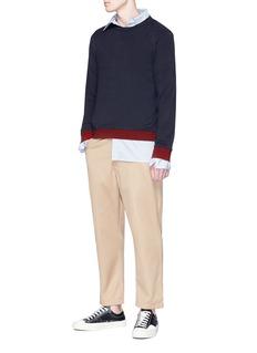 Marni Stripe detail sweatshirt
