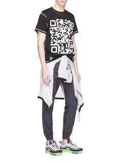 UNITED STANDARD QR Code print T-shirt