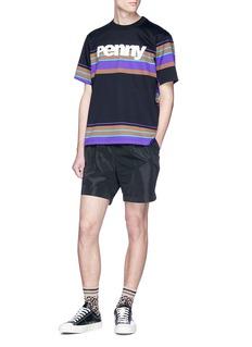 kolor Pleated sweat shorts