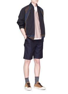 kolor Colourblock windbreaker jacket