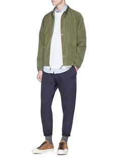 kolor 'Coach' print coach jacket