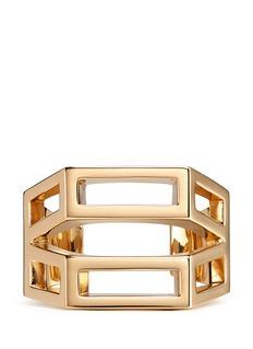 CHLOÉ'Bianca' geometric cutout cuff