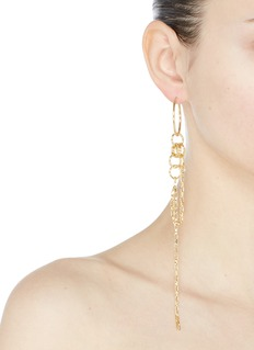 Joomi Lim 'Not Your Basic' mismatched detachable chain small hoop earrings