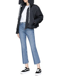 Proenza Schouler PSWL cropped straight leg jeans