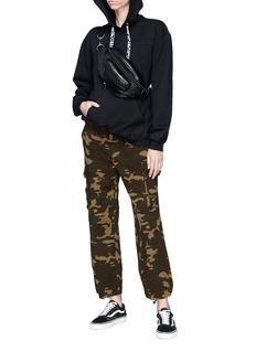 Proenza Schouler PSWL geometric patch hoodie